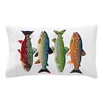 4 Char fish Pillow Case