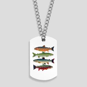 4 Char fish Dog Tags