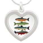 4 Char fish Necklaces
