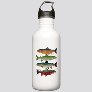4 Char fish Water Bottle