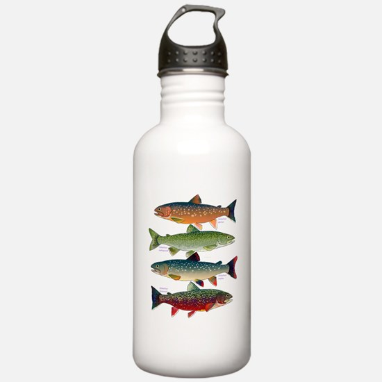 4 Char fish Water Bottle
