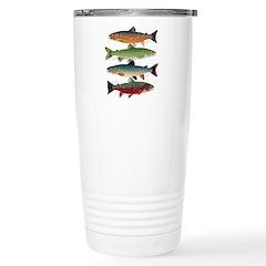 4 Char fish Travel Mug
