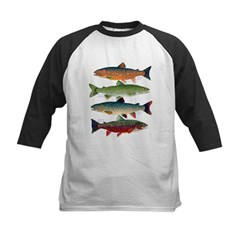 4 Char fish Baseball Jersey