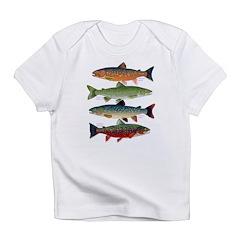 4 Char fish Infant T-Shirt