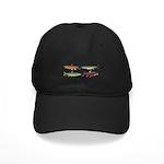 4 Char fish Baseball Hat