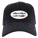 4 Char fish Baseball Hat