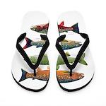 4 Char fish Flip Flops