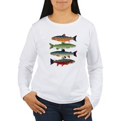 4 Char fish Long Sleeve T-Shirt