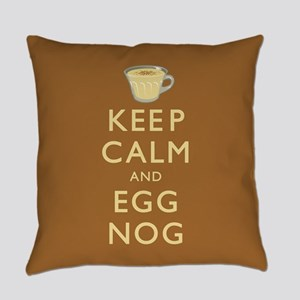 Keep Calm And Egg Nog Master Pillow