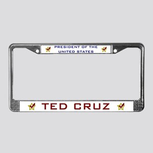 Ted Cruz President USA V2 License Plate Frame