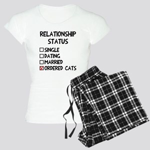 Relationship status cats Women's Light Pajamas