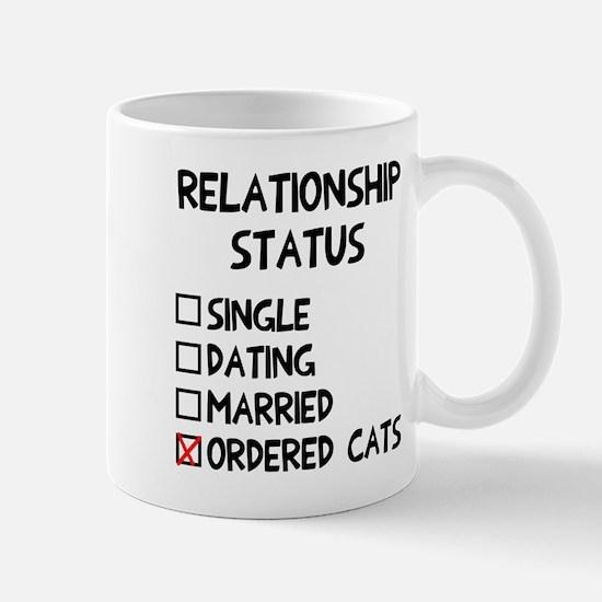 Relationship status cats Mug