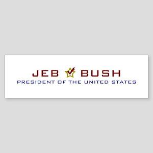 Jeb Bush President USA Sticker (Bumper)