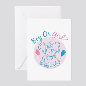 Boy or Girl Greeting Cards