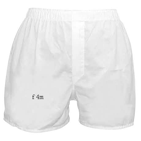 f4m Boxer Shorts