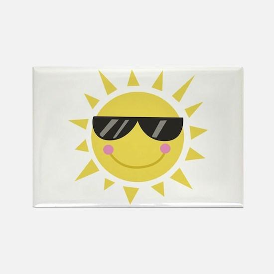 Smile Sun Magnets
