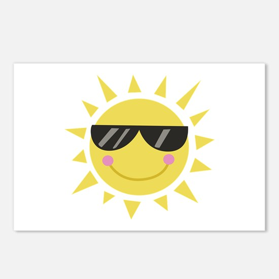 Smile Sun Postcards (Package of 8)