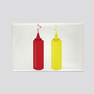 Ketchup Mustard Magnets