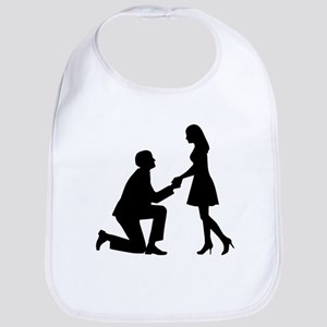 Wedding Marriage Proposal Bib