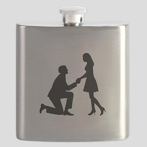 Wedding Marriage Proposal Flask