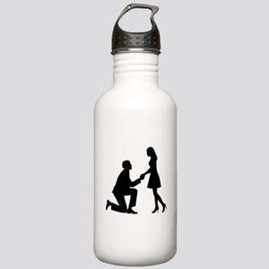Wedding Marriage Propo Stainless Water Bottle 1.0L