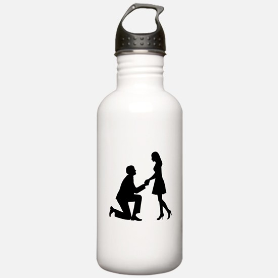 Wedding Marriage Propo Water Bottle