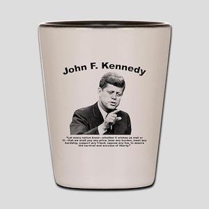 JFK Liberty Shot Glass