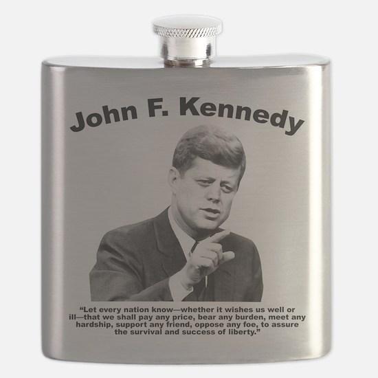 JFK Liberty Flask
