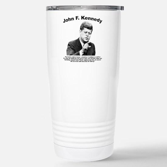 JFK Liberty Stainless Steel Travel Mug