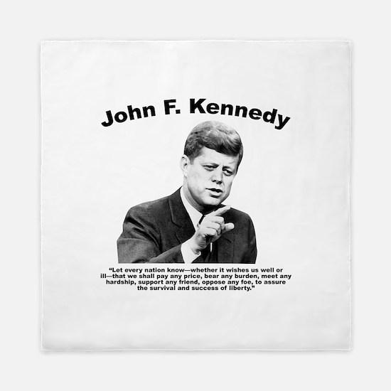 JFK Liberty Queen Duvet