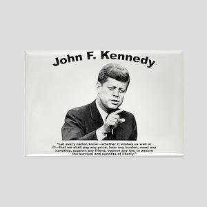 JFK Liberty Rectangle Magnet