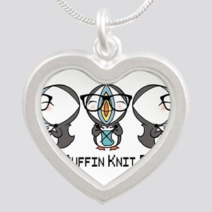 Geeky Puffin Knit Palooza Necklaces