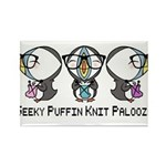 Geeky Puffin Knit Palooza Magnets