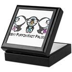 Geeky Puffin Knit Palooza Keepsake Box