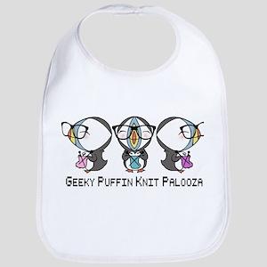 Geeky Puffin Knit Palooza Bib
