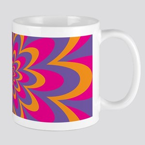 Pop Art Flower Mugs