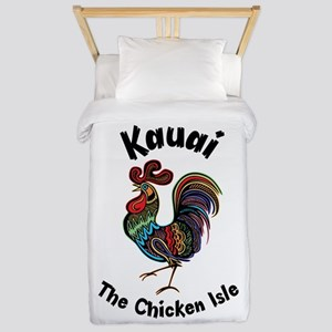 Kauai - The Chicken Isle Twin Duvet