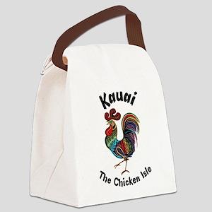 Kauai - The Chicken Isle Canvas Lunch Bag