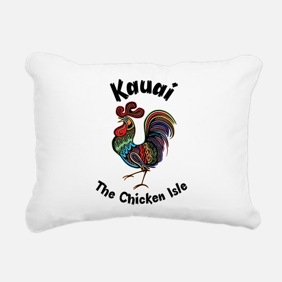 Kauai - The Chicken Isle Rectangular Canvas Pillow