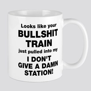 Bullshit Train Mug