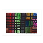 Mondrian Inspired Postcards (package Of 8)