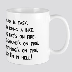 My job in hell Mug