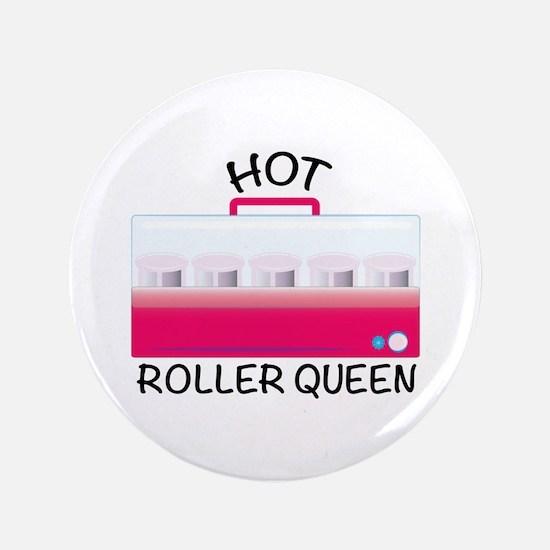 """Hot Roller Queen 3.5"""" Button"""