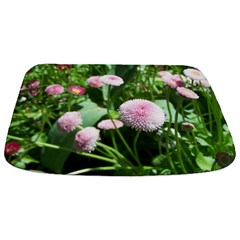 Pink Flower Bathmat