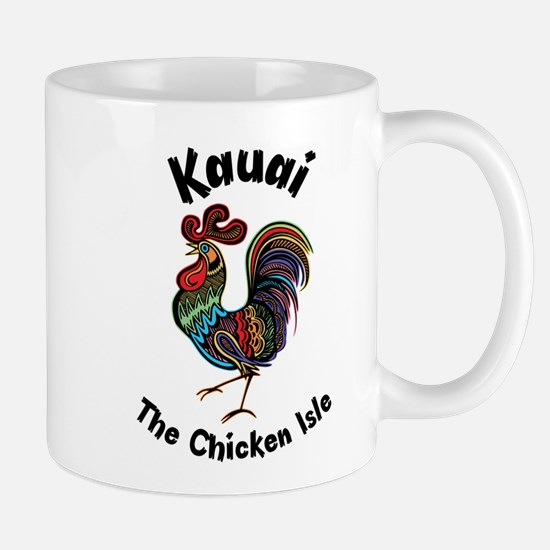 Kauai - The Chicken Isle Mugs