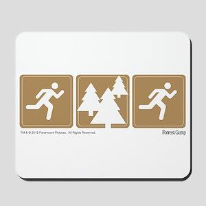Run Forrest Run Mousepad