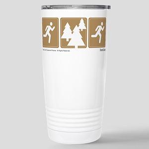 Run Forrest Stainless Steel Travel Mug