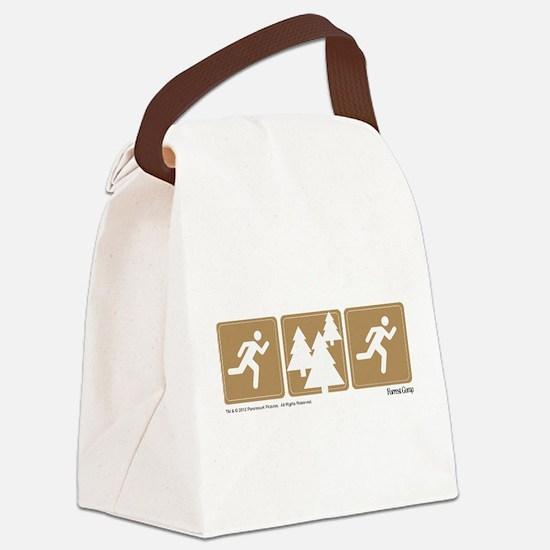 Run Forrest Run Canvas Lunch Bag