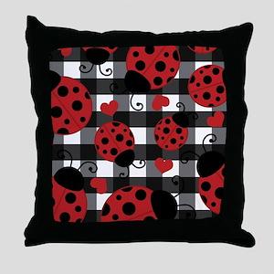 ladybug lover Throw Pillow