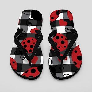 ladybug lover Flip Flops